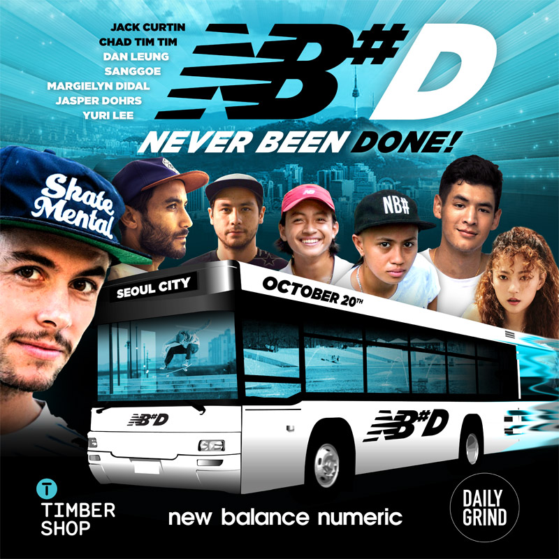 NB#D SEOUL SKATEBOARD CONTEST
